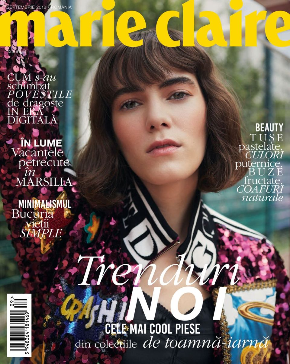 MARIE CLAIRE. SEPTEMBER 2018