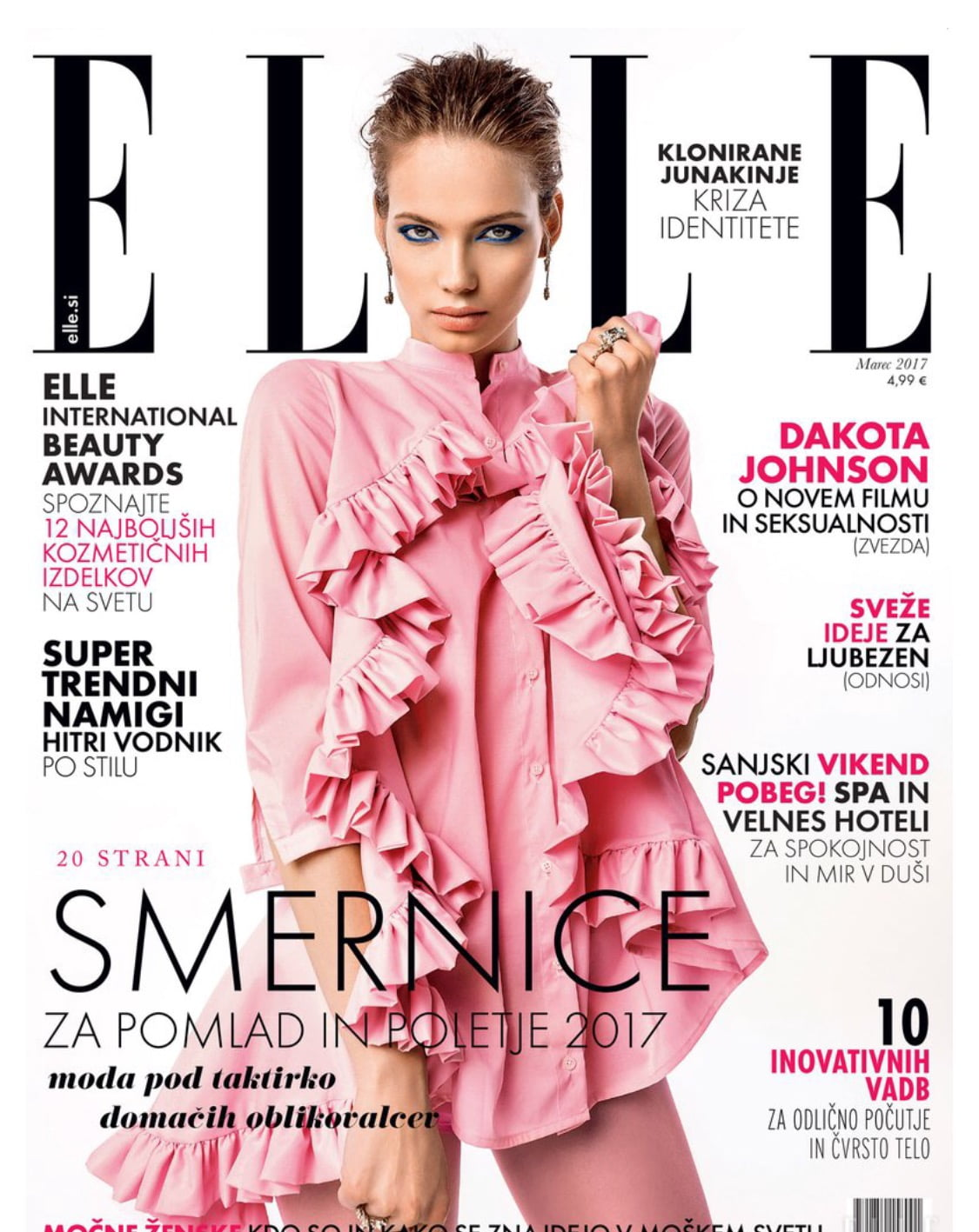 ELLE. SLOVENIA. MARCH 2017