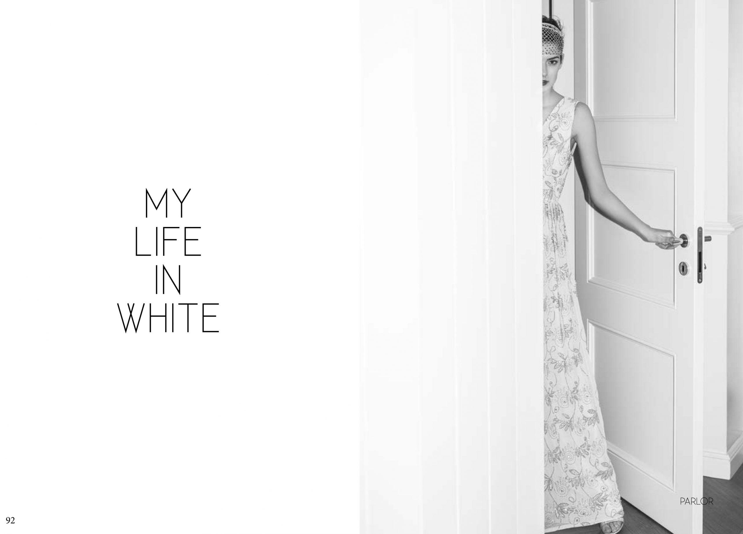 UFASHON BRIDAL. MY LIFE IN WHITE. 2017